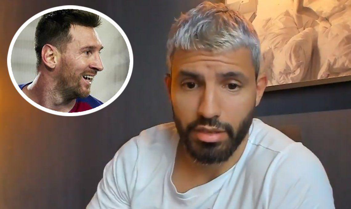 Lo tiene cortito: Messi le dijo a Agüero que deje de boludear en las redes