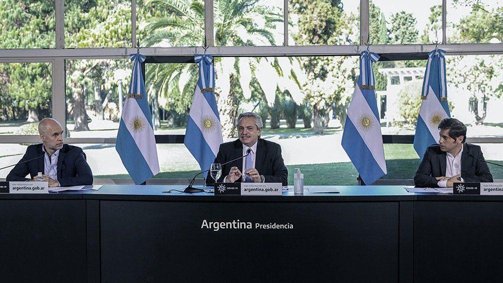Alberto Fernández anunciará el viernes la flexibilización de la cuarentena en el AMBA