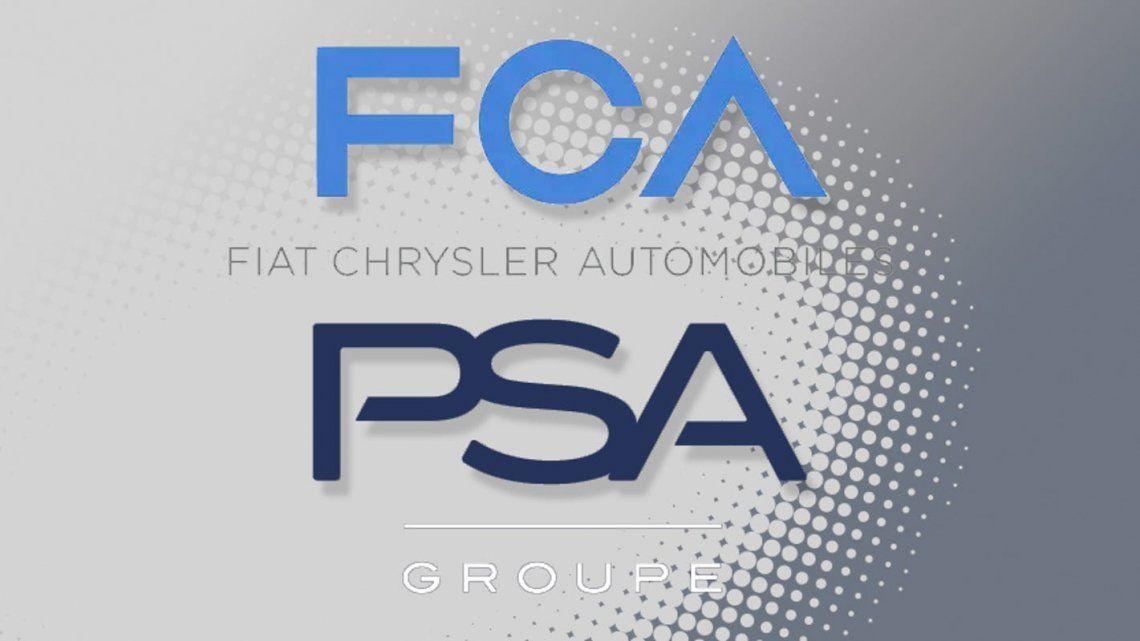 Tras fusionarse, Fiat Chrysler (FCA) y Peugeot Citroen (PSA) son el tercer grupo mundial