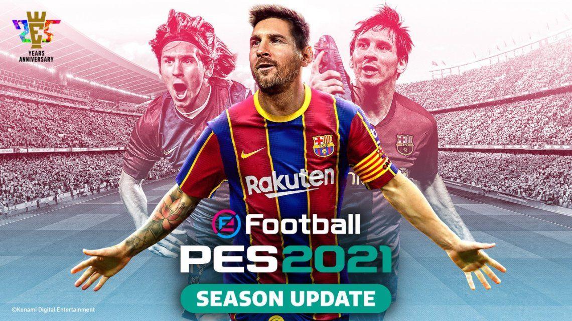 eFootball PES 2021: revelan fecha de lanzamiento y precio