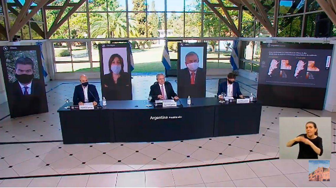 Nueva fase de la cuarentena: seguí en vivo el anuncio de Alberto Fernández, Horacio Rodríguez Larreta y Axel Kicillof