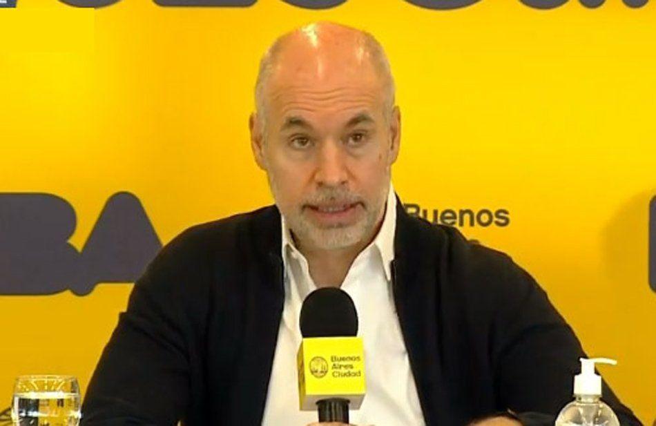 Horacio Rodríguez Larreta: Es el inicio de un plan gradual