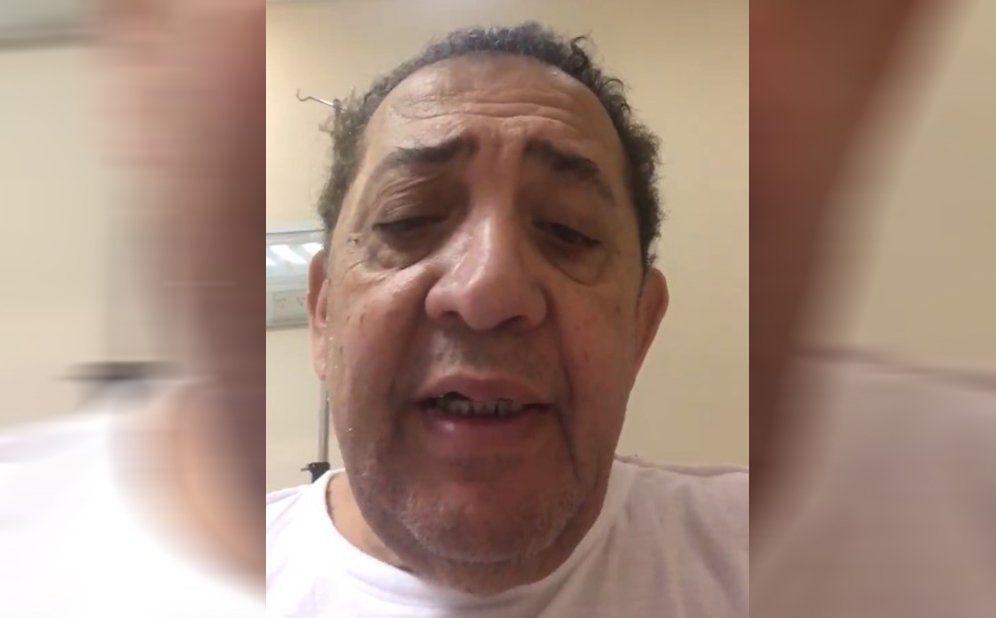 Luis DElía desde la clínica: Estoy aquí, resucitando