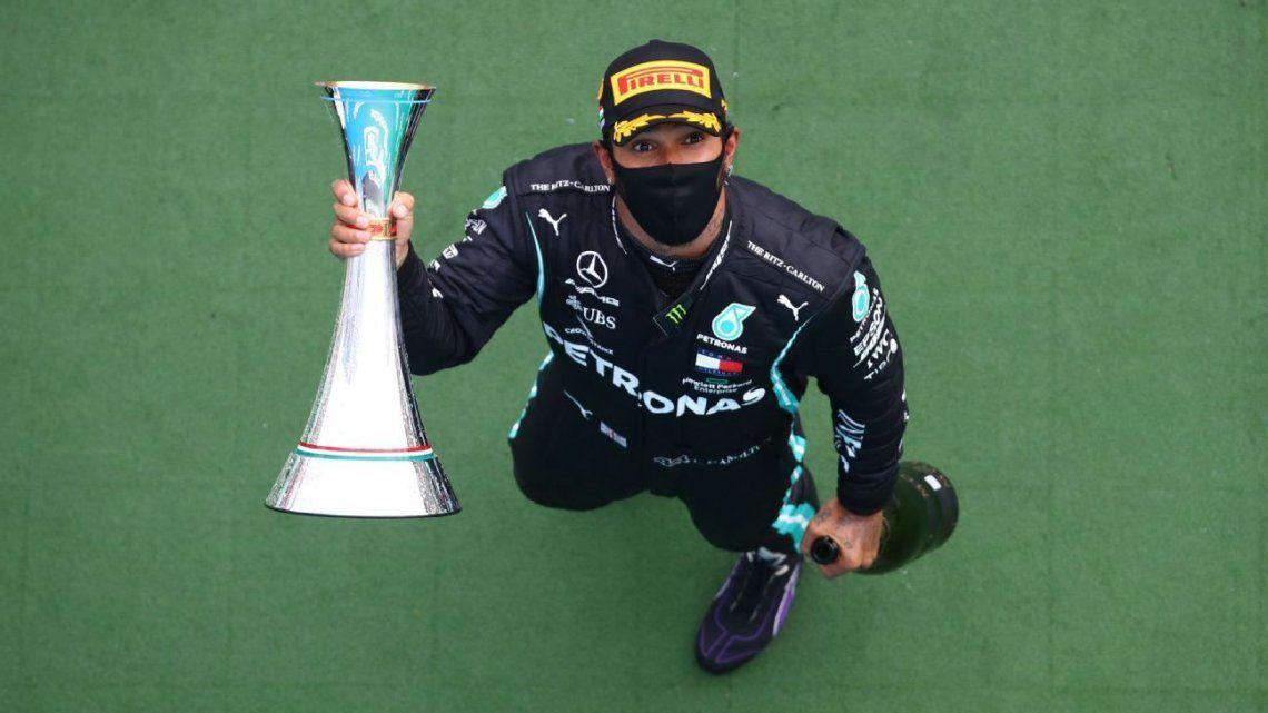 Hamilton se quedó con el Gran Premio de Hungría y es nuevo líder de la Fórmula 1