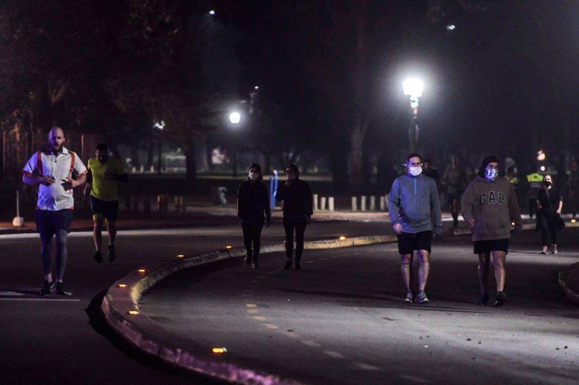 En fotos: volvieron los runners a la Ciudad de Buenos Aires