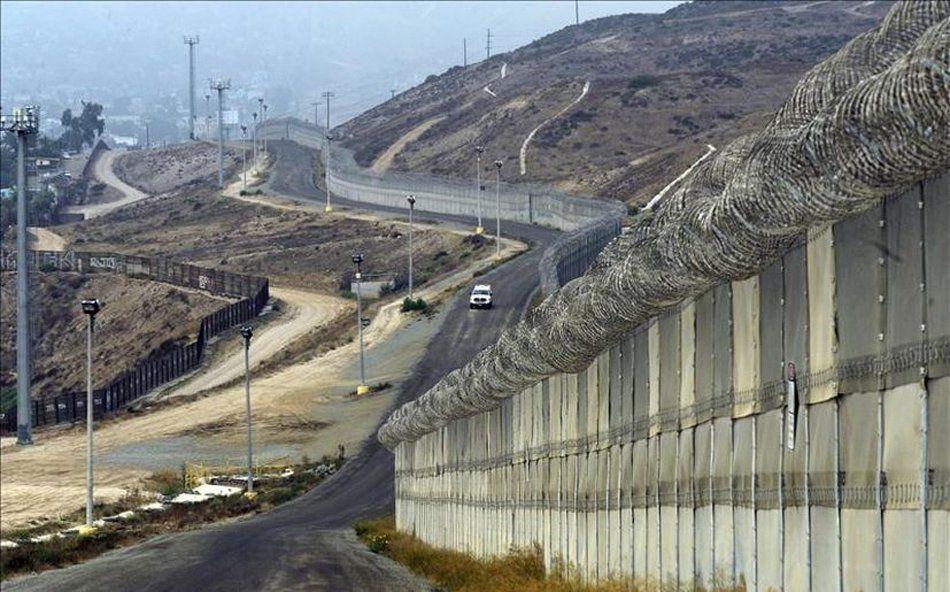 Estados Unidos avanza en la construcción del muro fronterizo con México