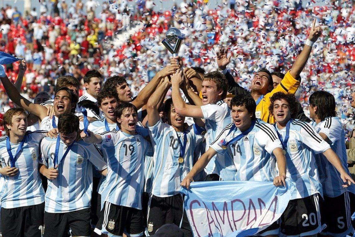 Efemérides del 22 de julio: hace 13 años Argentina ganaba el último Mundial sub 20
