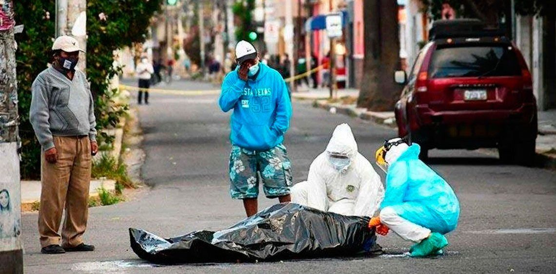 Coronavirus en Bolivia: recogieron más de 420 cadáveres de la calle la semana pasada