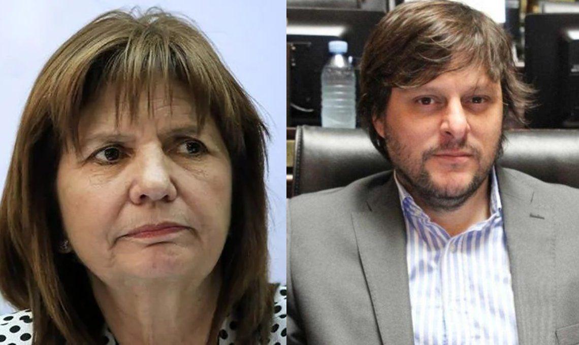 Patricia Bullrich arremetió contra Leandro Santoro: Expliquen ustedes de qué lado de la seguridad están