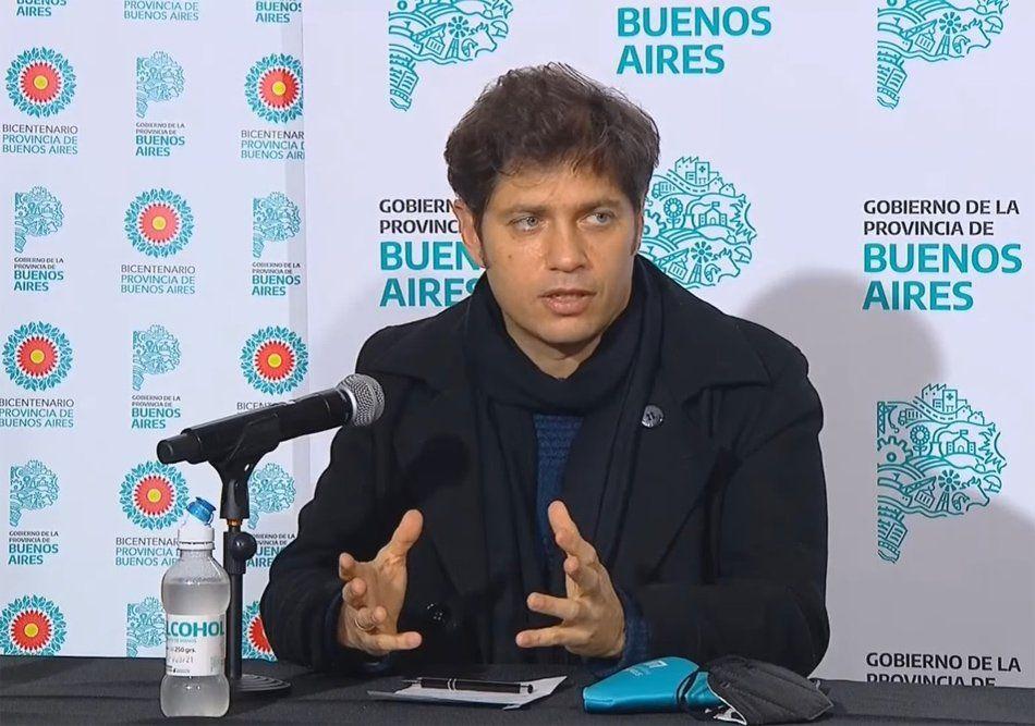 Coronavirus: Axel Kicillof anunció un subsidio de $ 500 pesos diarios para quienes se aíslen en centros extrahospitalarios