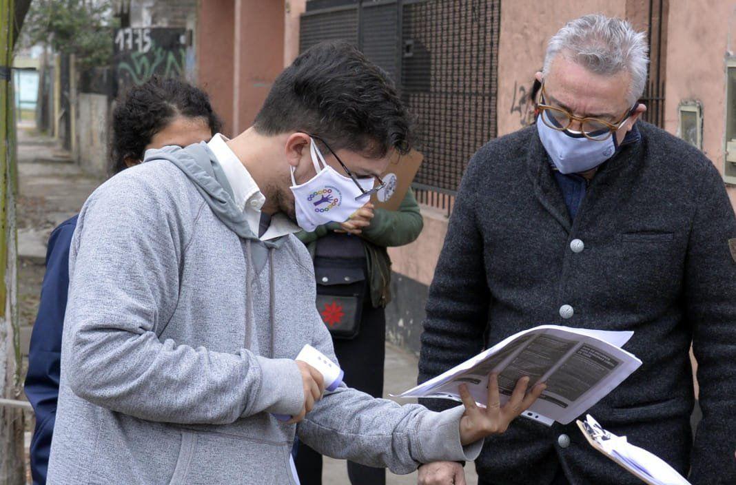 Ya relevamos a 40 mil vecinos de Tigre en busca de casos sospechosos