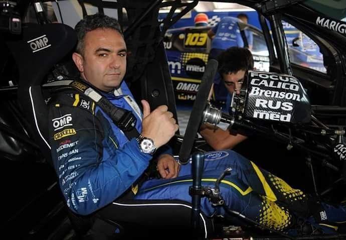 El momento del terrible accidente que sufrió el ex piloto Esteban Tuero