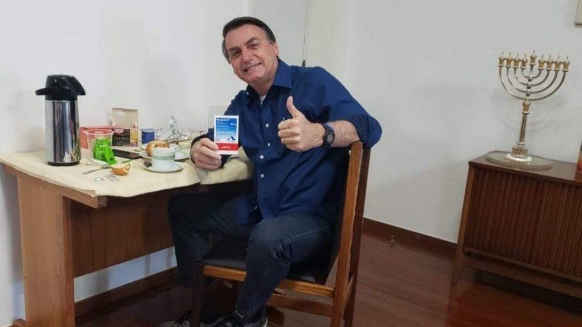 Jair Bolsonaro ya no tiene coronavirus