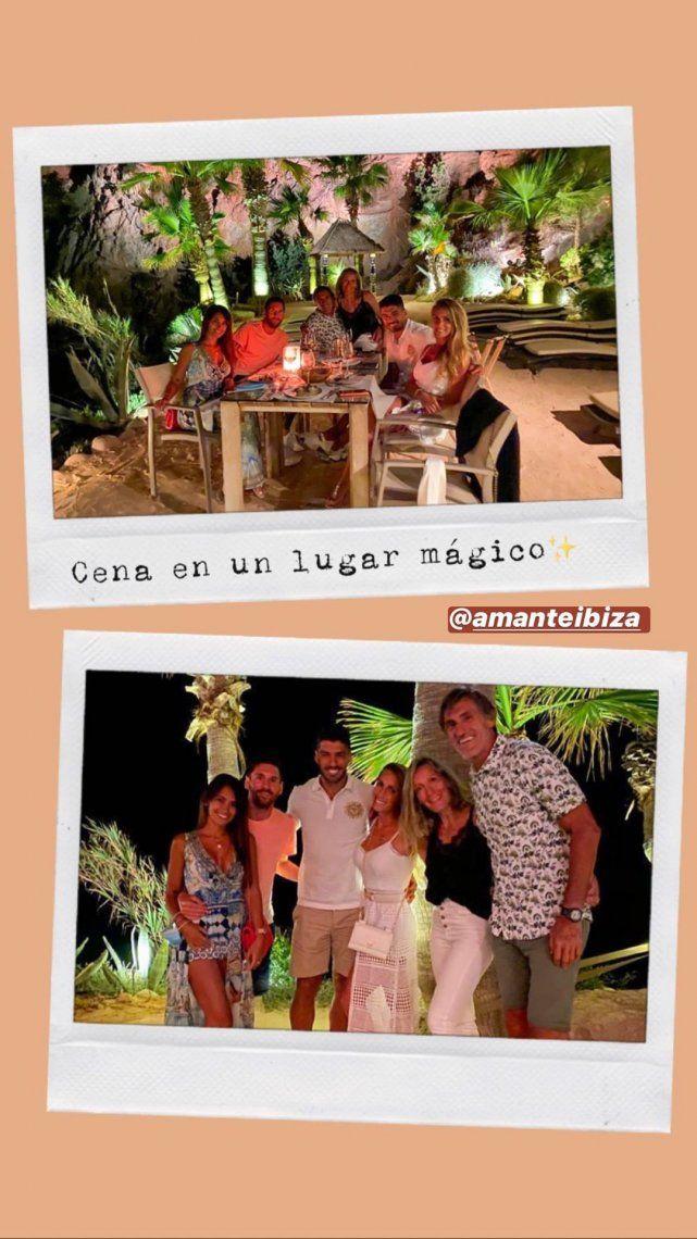 Ibiza en yate: las lujosas vacaciones de Messi con Suárez y sus familias