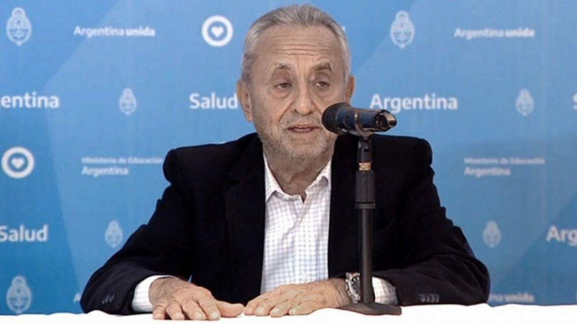 Pedro Cahn: Estamos atravesando el ojo de la tormenta, con un número de contagios importante