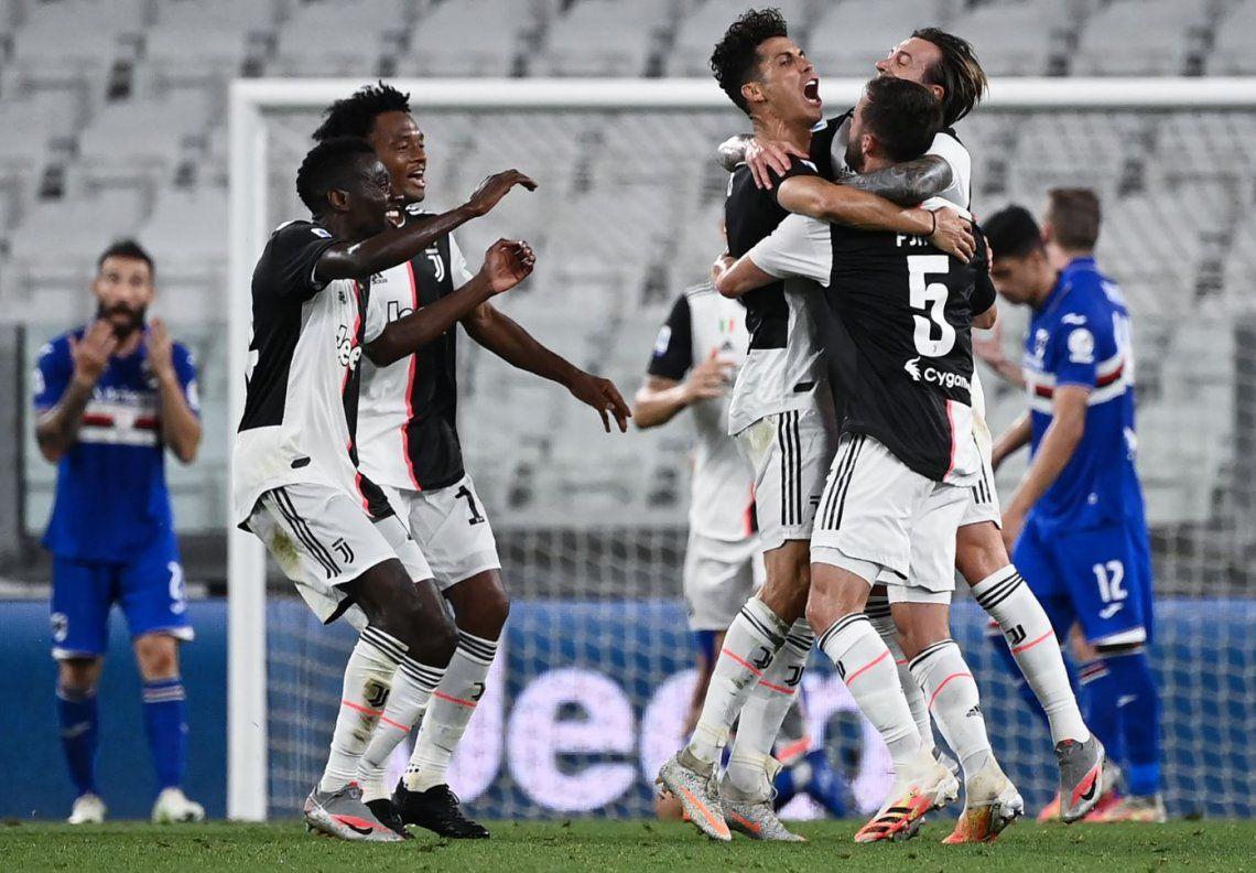No tiene rival: Juventus salió campeón en Italia por novena vez consecutiva