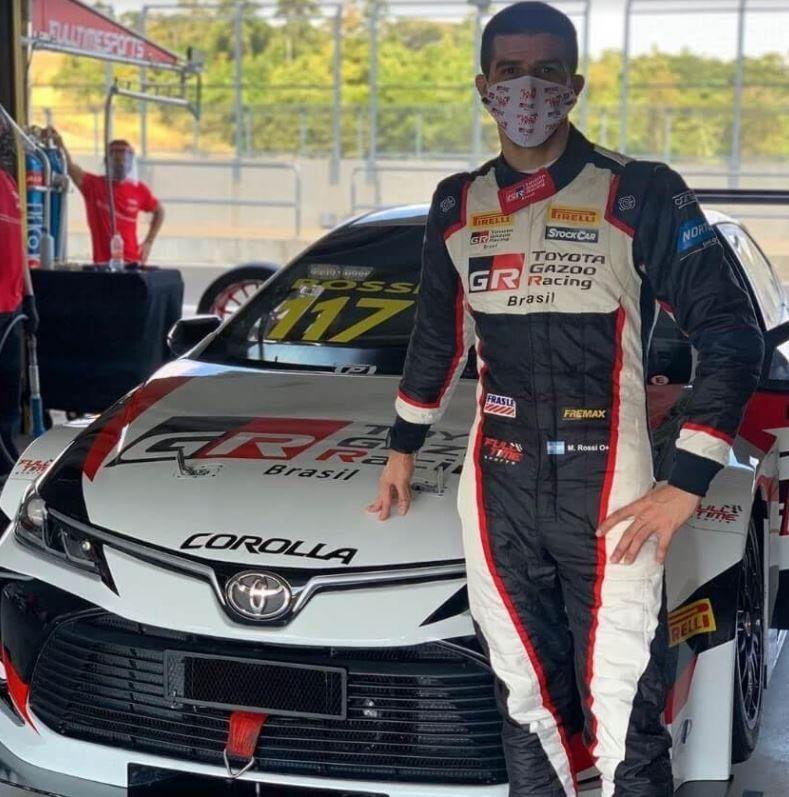 Único piloto argentino en actividad: cómo le fue a Matías Rossi en su debut en Brasil