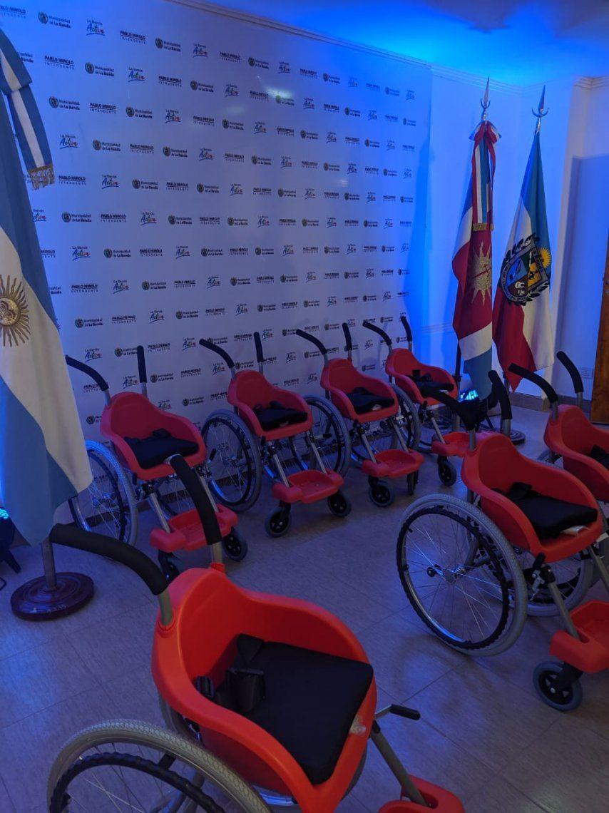 La Primera dama participó en la entrega de sillas de ruedas junto a la Fundación Wheelchairs of Hope Argentina