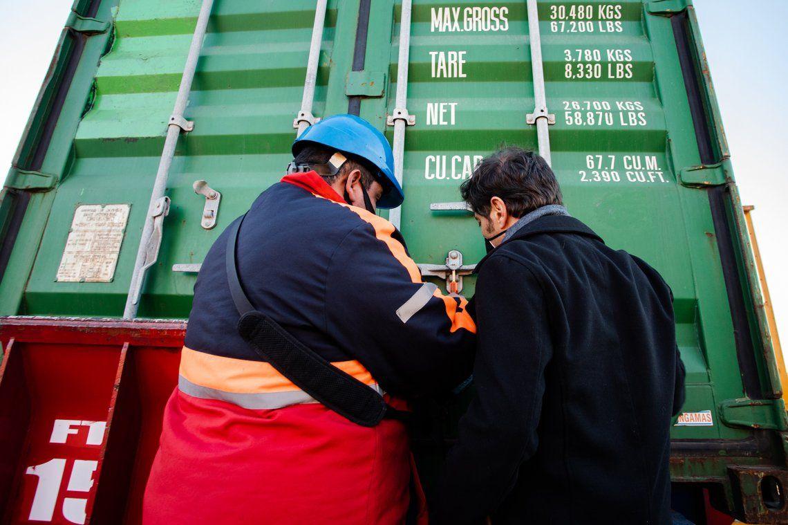 Coronavirus: llegó para la Provincia otro barco con insumos médicos chinos