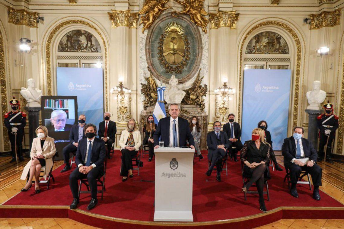 Alberto Fernández, con críticas a Mauricio Macri y a sectores de Comodoro Py, lanzó su propuesta de reforma judicial