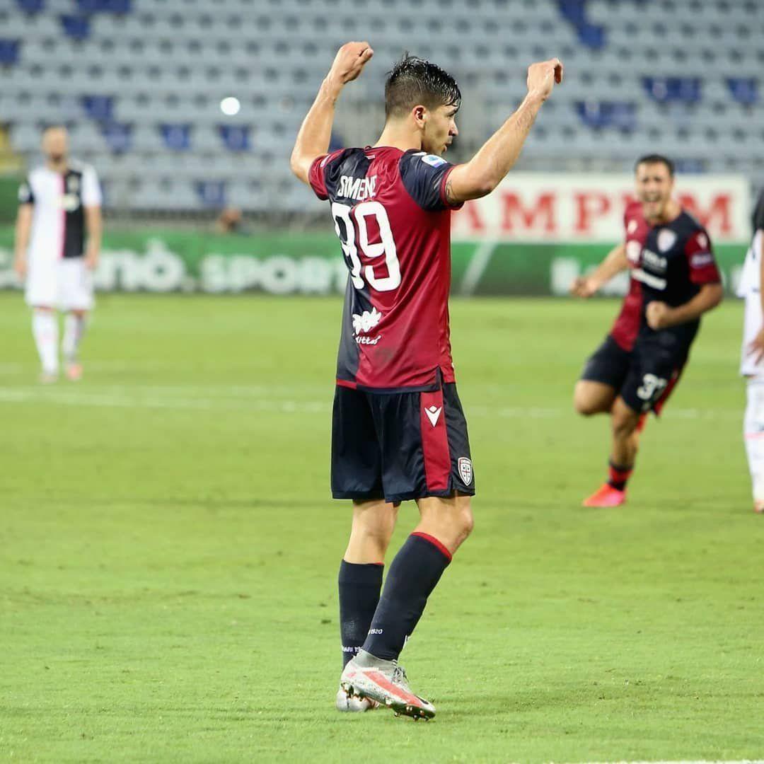 Gio Simeone festejó ante el campeón y Cristiano se quedó con las ganas