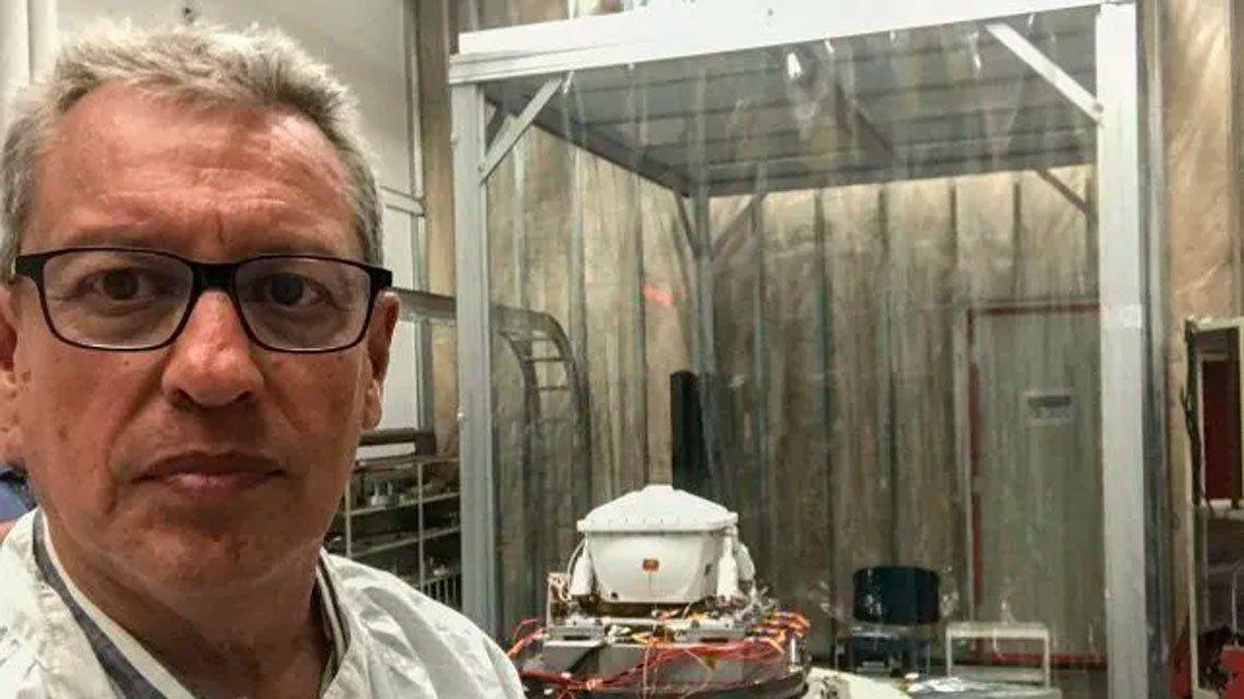 Quién es el argentino que participa de la misión de la NASA para encontrar vida en Marte