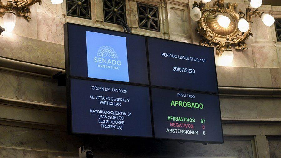 El Senado aprobó el proyecto de reestructuración de la deuda bajo ley argentina