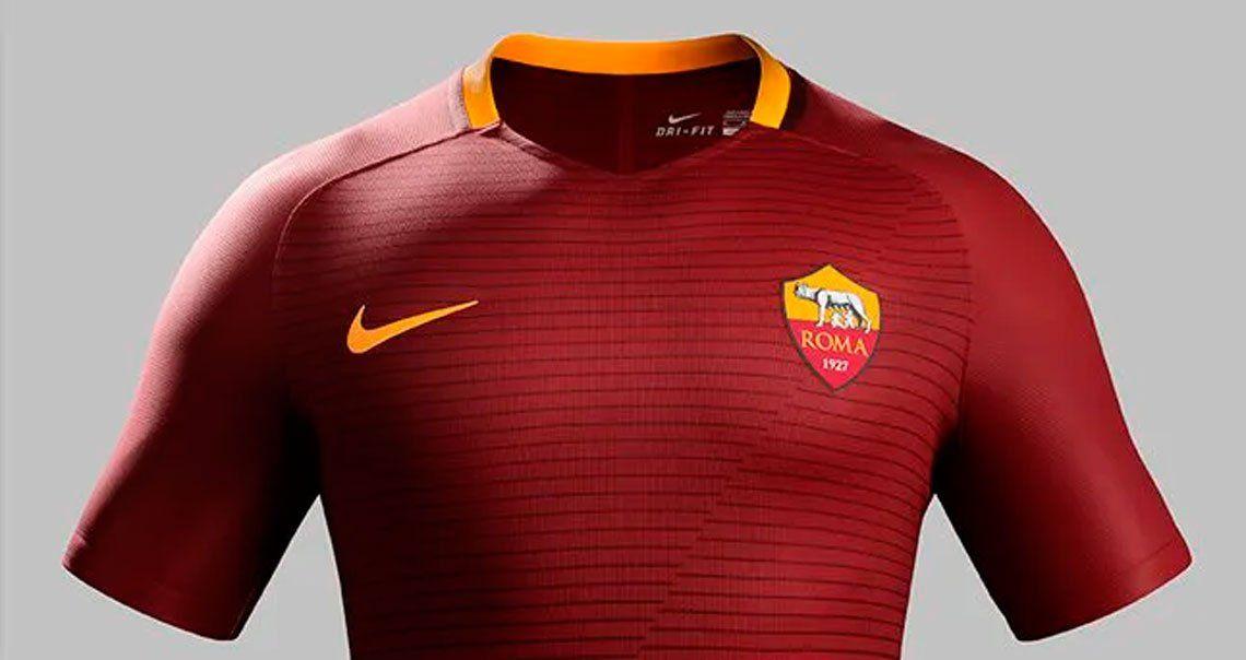 Nike perdió la camiseta de la Roma