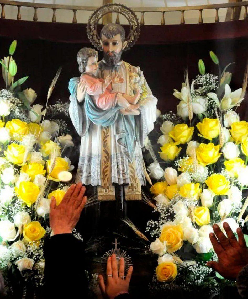 San Cayetano: En el tercer día de la Novena, se reza por la gracia y la ayuda de Dios