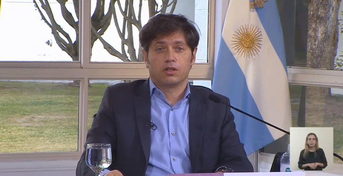 Sin cambios: Kicillof remarcó que la provincia de Buenos Aires seguirá con apertura limitada-
