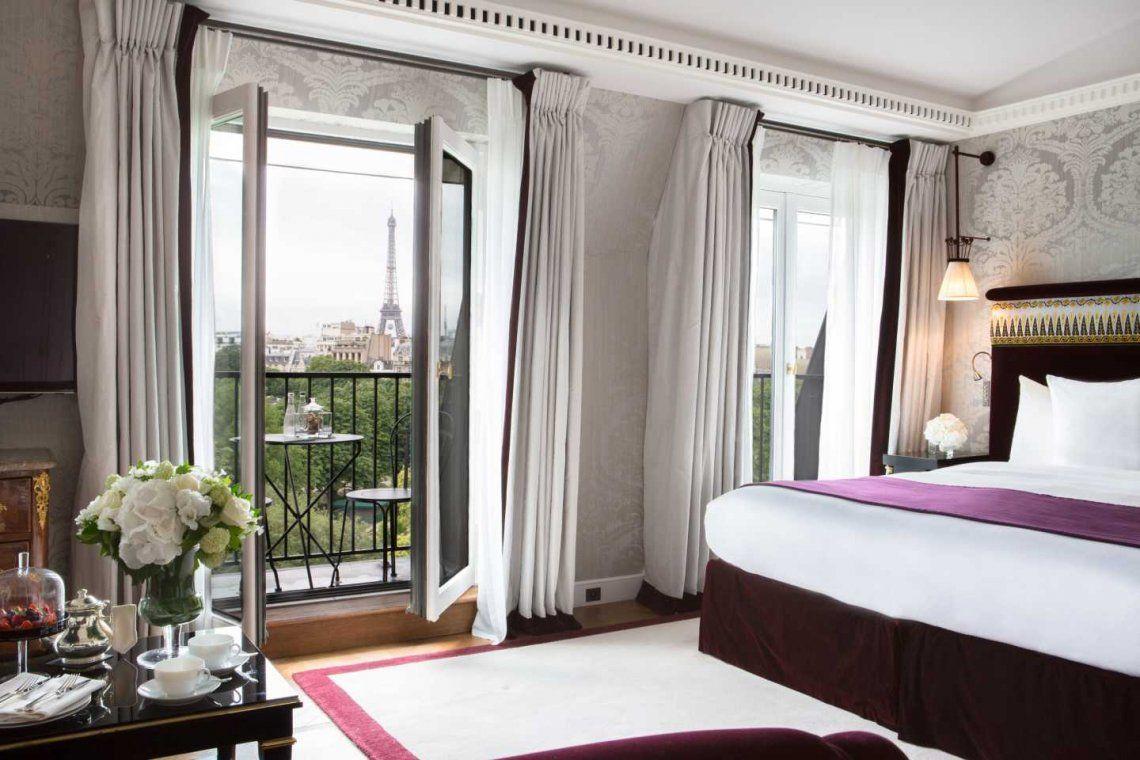 Cuarentena de lujo: Macri se hospeda en uno de los hoteles más caros de París