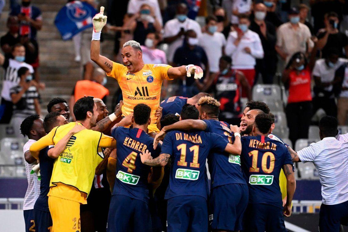 PSG conquistó la Copa de Francia: Di María, Paredes e Icardi siguen sumando títulos