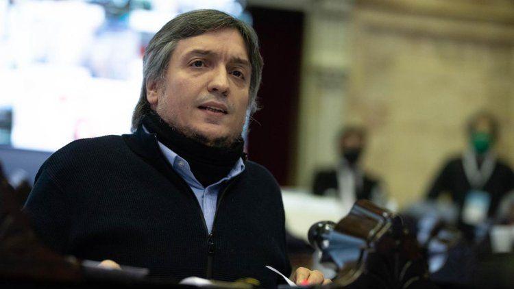 Macri es mucho mejor turista que presidente, dijo Máximo Kirchner