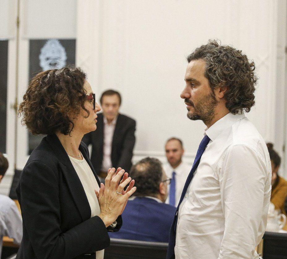 Santiago Cafiero y Cecilia Todesca