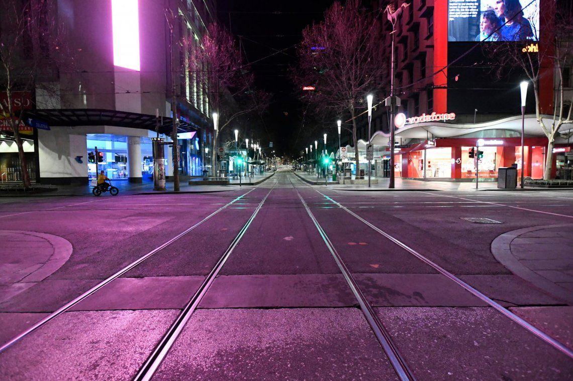 En fotos: toque de queda en Melbourne para frenar el rebrote de coronavirus