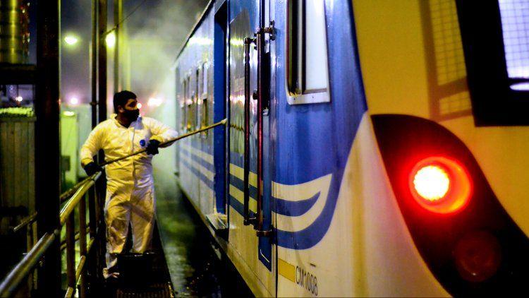 El tren Sarmiento interrumpe su servicio tras confirmarse 10 nuevos casos