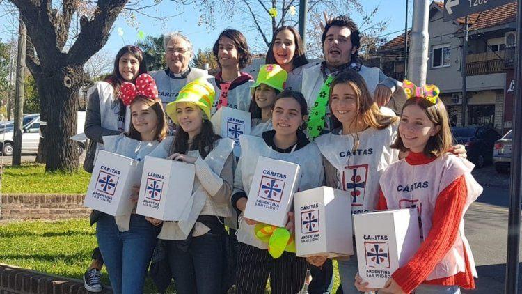 Cáritas asistió a 2,2 millones de personas desde el inicio de la cuarentena
