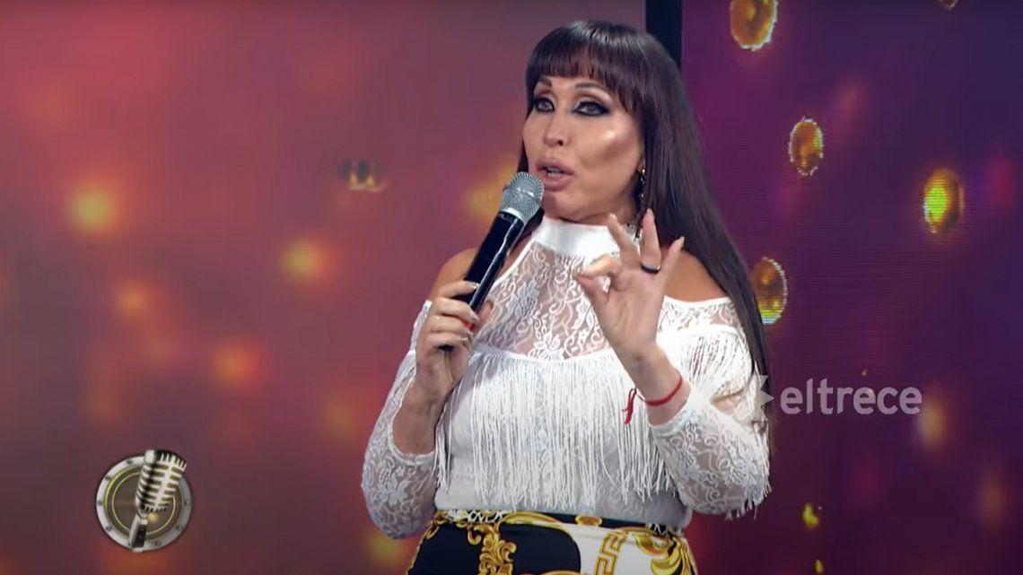 Cantando 2020: Moria Casán amenazó con renunciar porque no la dejan hablar