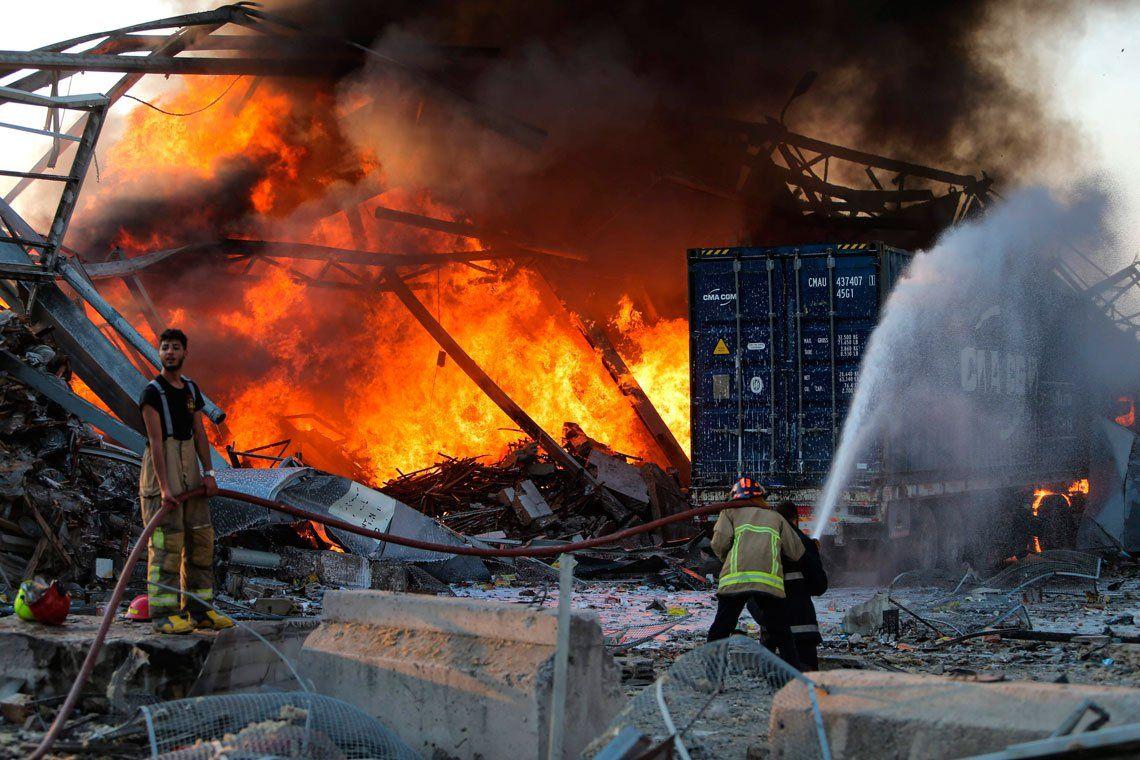 Líbano, entre la catástrofe y la crisis total