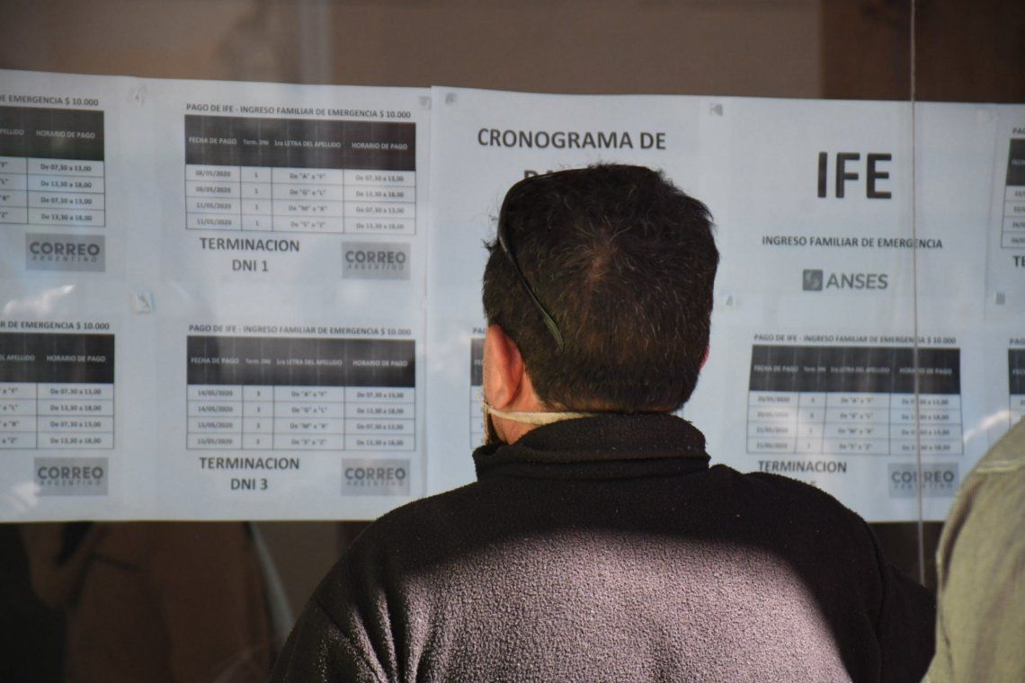IFE3: el jueves y el viernes cobran los titulares con DNI terminados en 6