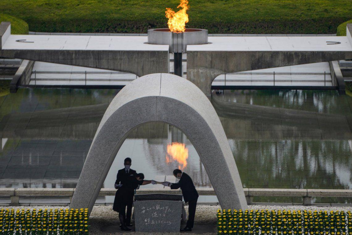 Hiroshima: homenajes a 75 años de la primera bomba atómica