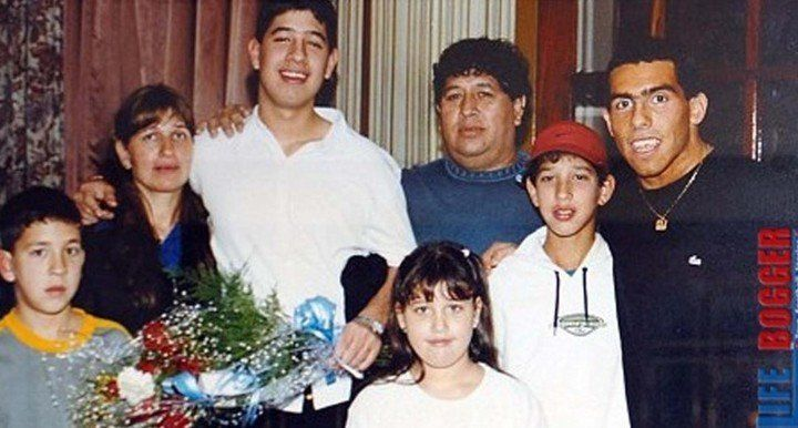 Familia Tevez