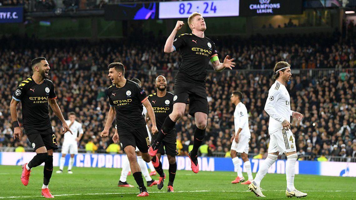 Manchester City -Real Madrid: cómo ver el partido y a qué hora juegan