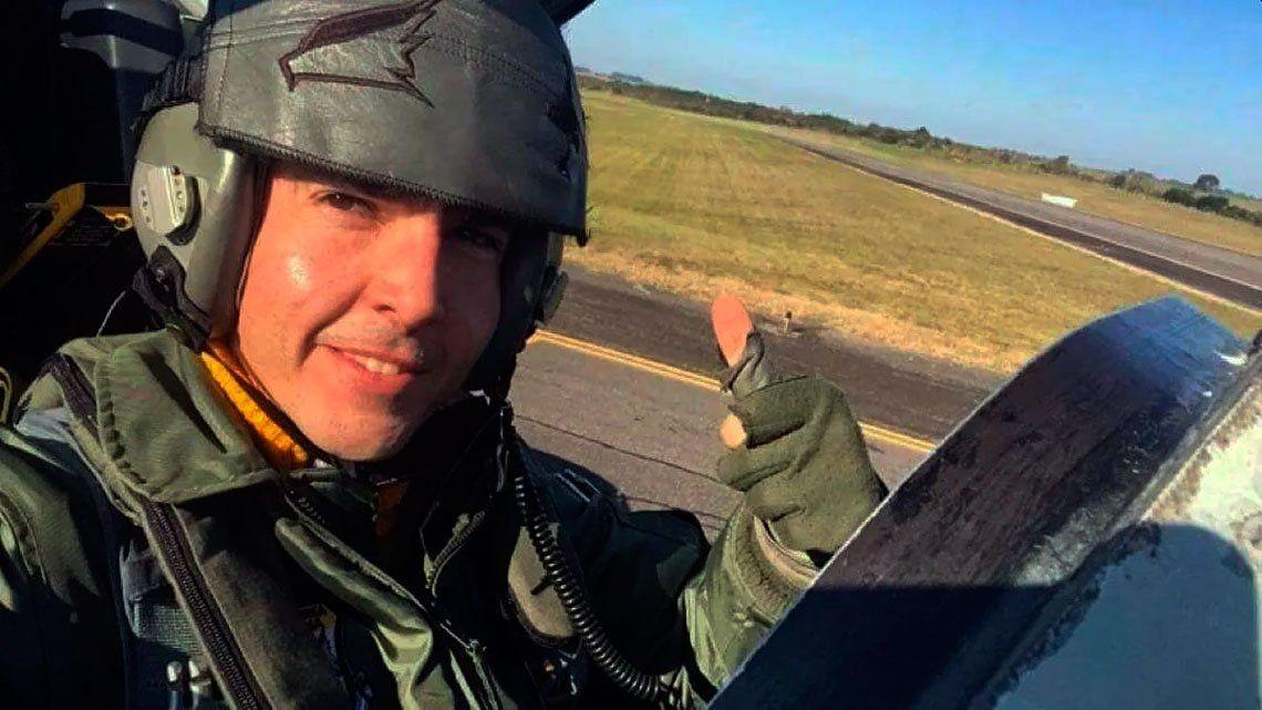 Video: el emotivo homenaje al piloto de la Fuerza Aérea fallecido en Córdoba