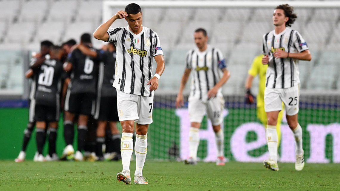 Champions League: Lyon dio la sorpresa y eliminó a la Juventus de Cristiano Ronaldo y Dybala
