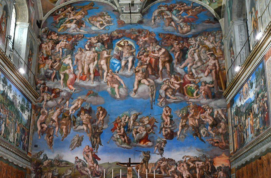 La Capilla Sixtina abría sus puertas el  9 de agosto de 1483