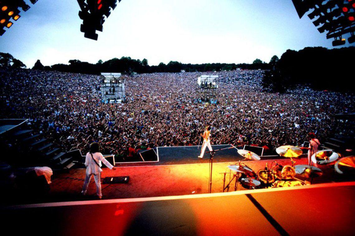 Knebworth Park: se cumplen 34 años del último recital de Queen con Freddie Mercury