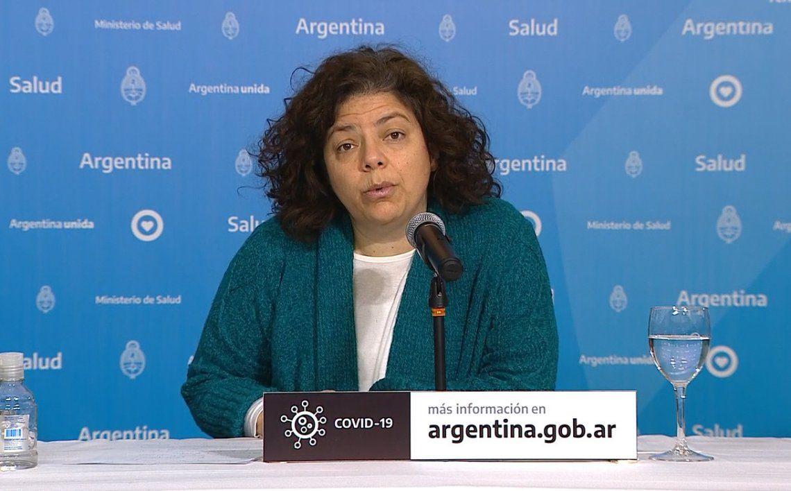 Coronavirus en Argentina: según Vizzotti, el pico de contagios fue el 7 de septiembre