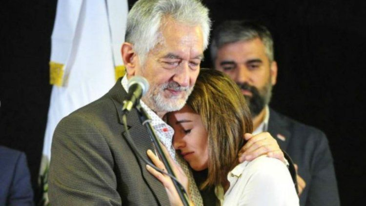 Rodríguez Saa y Natalia Spinuzza.