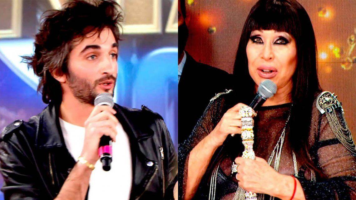 Cantando 2020: Moria Casán disparó contra Juan Pérsico: No entiende nada del show